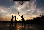 basket al tramonto, di MicheleSorrentino