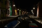Burano by night.