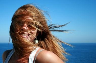 capelli al vento - Foto - Fototue.it