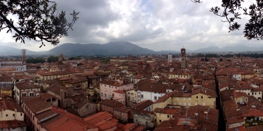 Panoramic of Lucca
