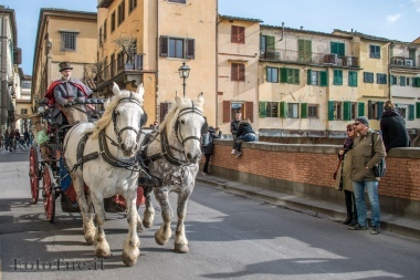 In carrozza per Firenze